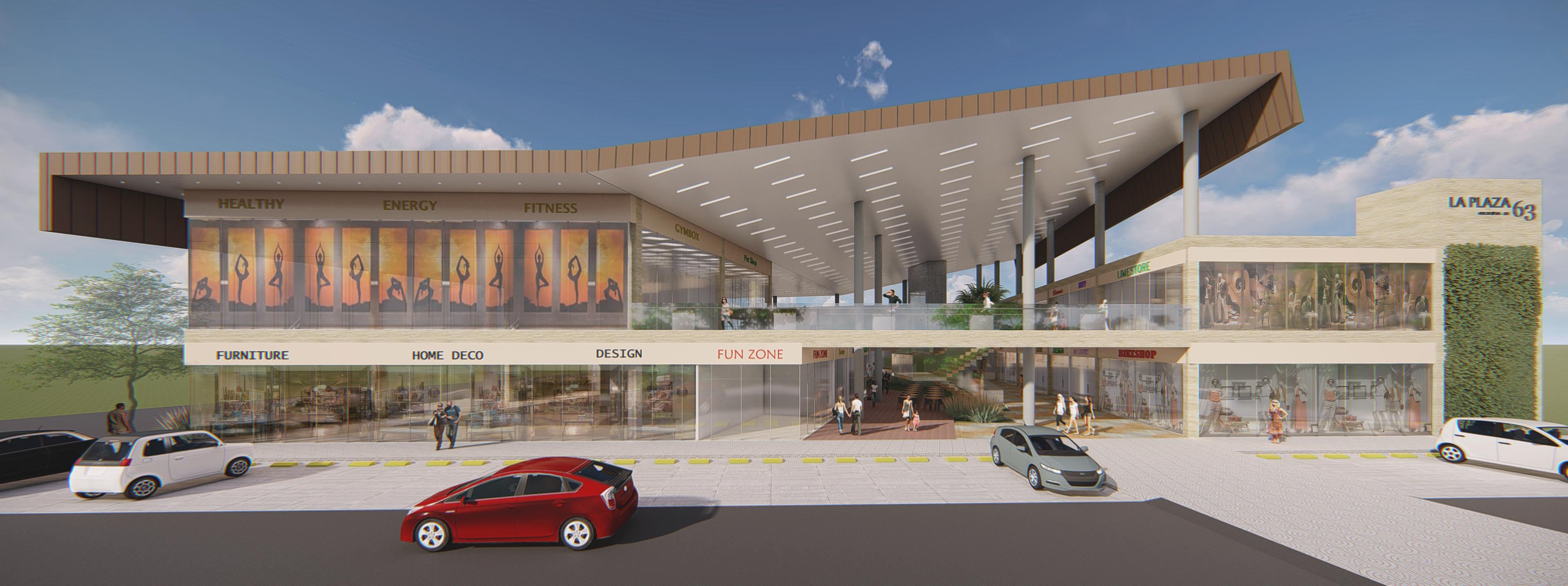 Street Mall Plaza 63