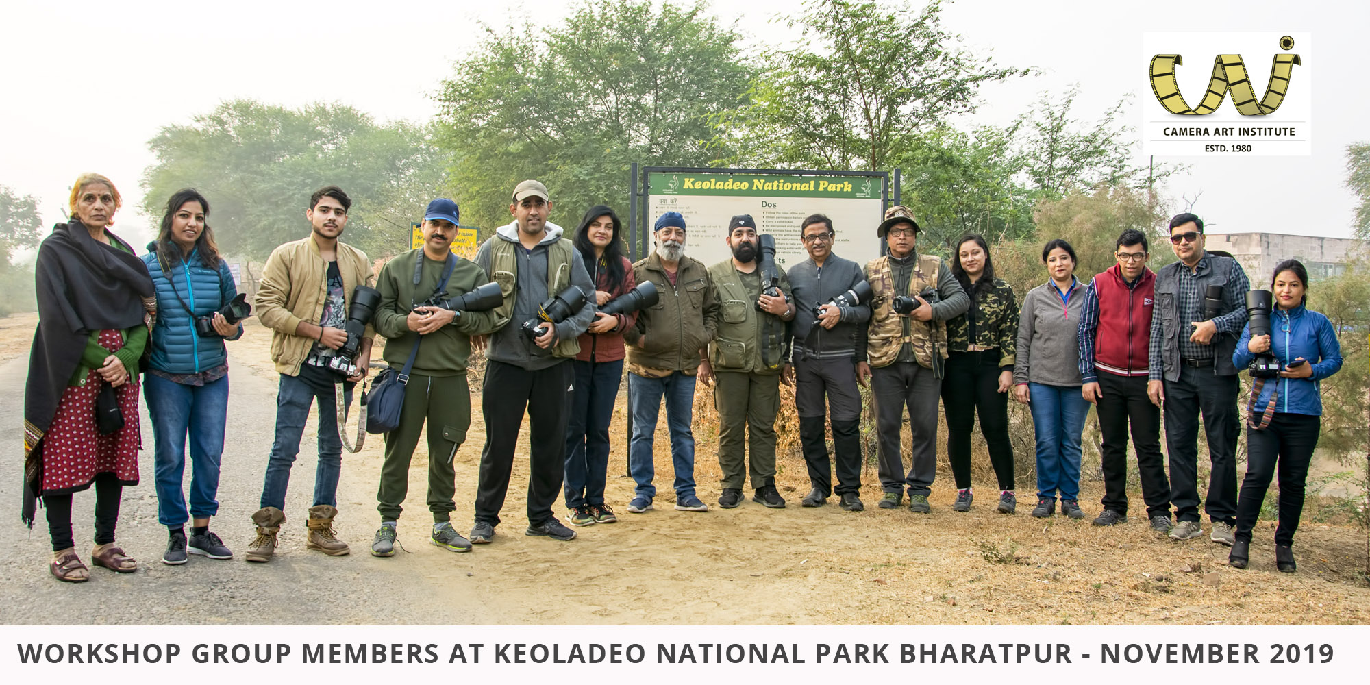 Group at Keoladeo National Park