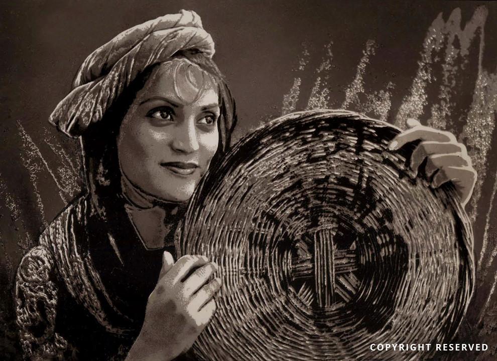 Village Girl- Aftab Ahmed Khan.jpg