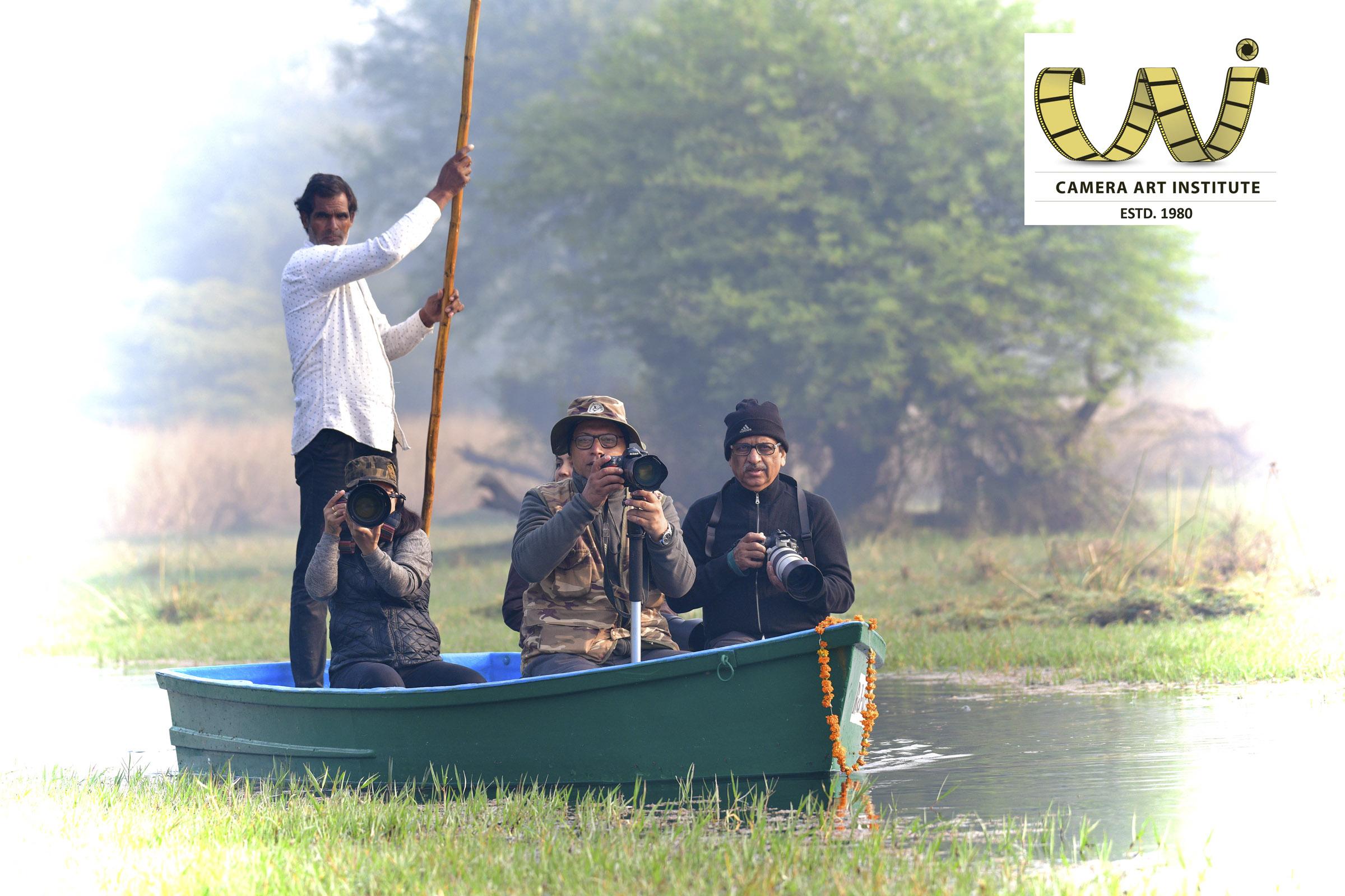 Boating at Keoladeo National Park