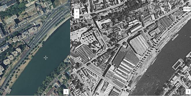 Comparatif aujourd'hui et 1949