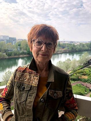 Claudine Sarre-Lucas, Présidente du Conseil syndical de la Vigie