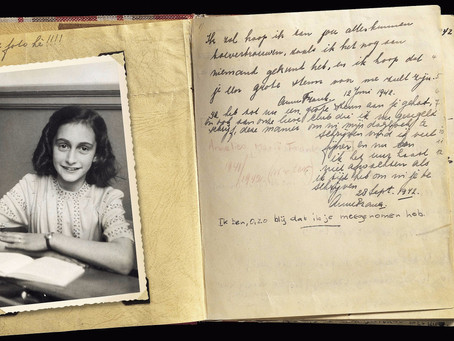 This Day In Writing History - June 25 - Anne Frank
