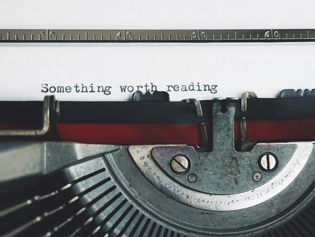 Why I Write - Johanna Flashman