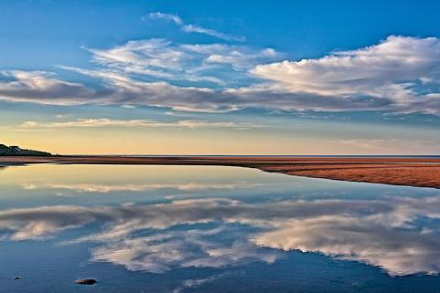 Beach Reflections, Linden,N.S.  (N15089.jpg)