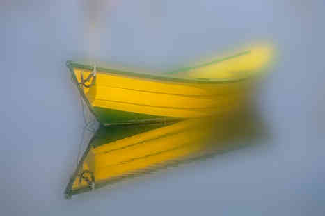 Dory Reflection     (V295.jpg)