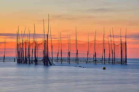 Weir at Sunrise     (B19236.jpg)