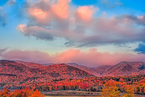 Fall Sunset, Cape Breton, N.S.   (A16003.jpg