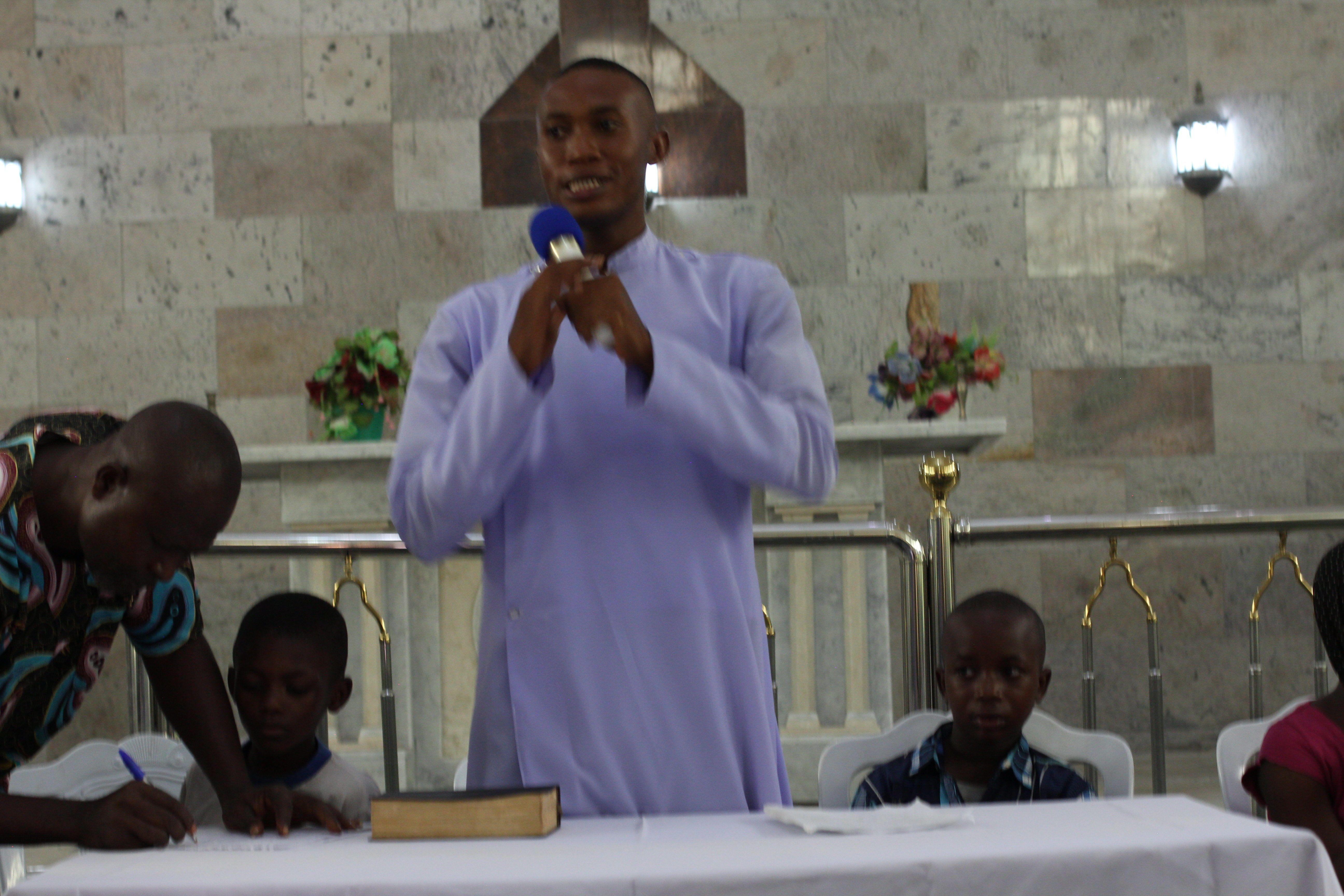 Church Teacher Remarks
