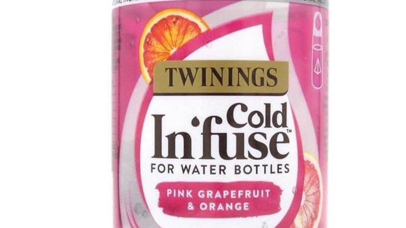 Pink Grapefruit & Orange cold Infuse