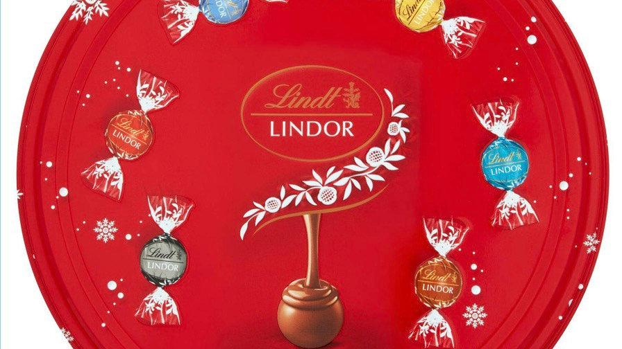 Lindt Lindor Assorted Chocolate Truffel Tin ( 400 g )
