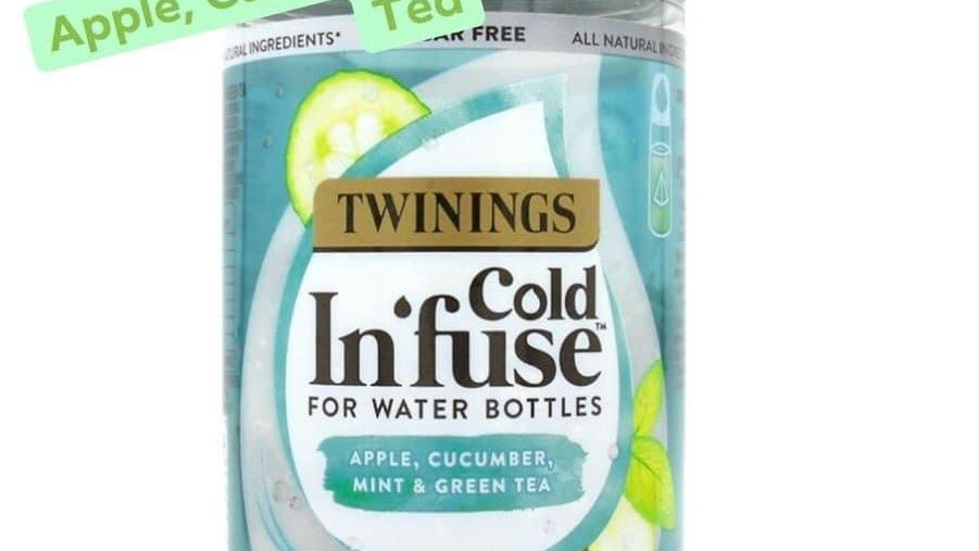 Apple , Cucumber , Mint & Green tea Cold Infuse