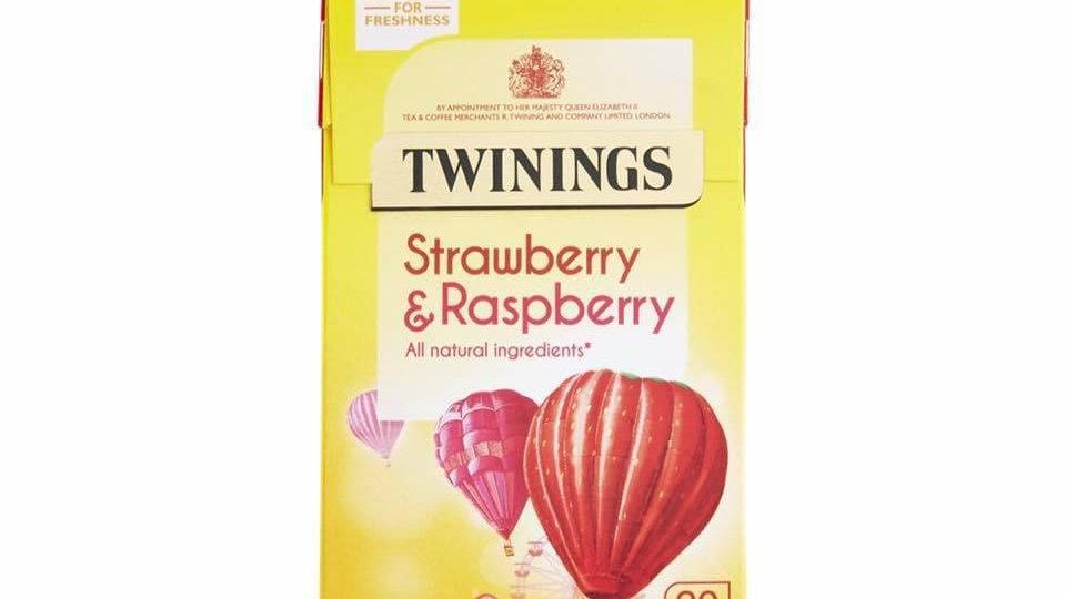 Strawberry & Raspberry Tea