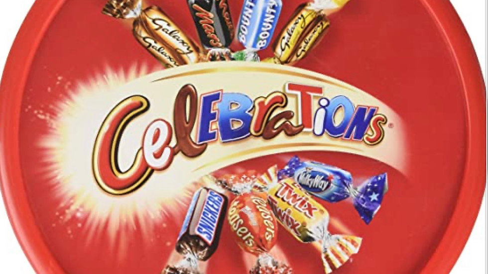 Celebrations  Tub 650 g