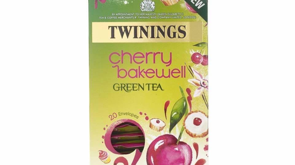 Cherry Bakewell Green Tea
