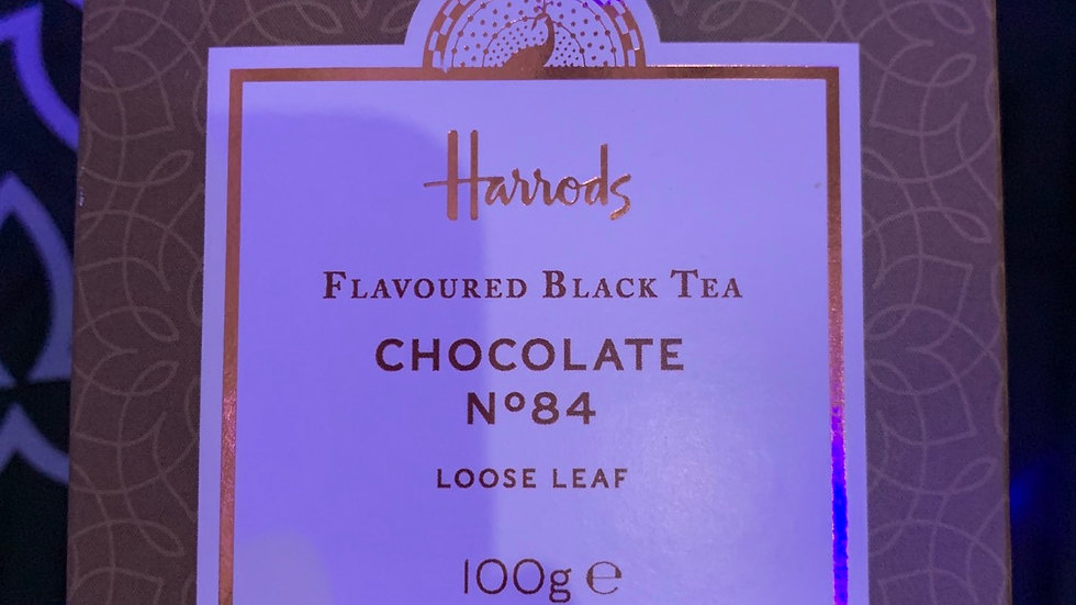 HARRODS Chocolate flavoured black tea