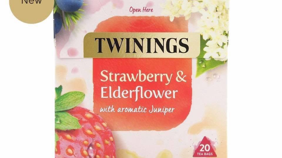 Strawberry & Elderflower Tea