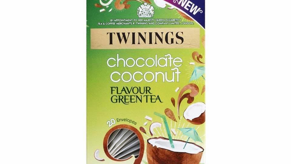 Chocolate Coconut Flavour Green Tea