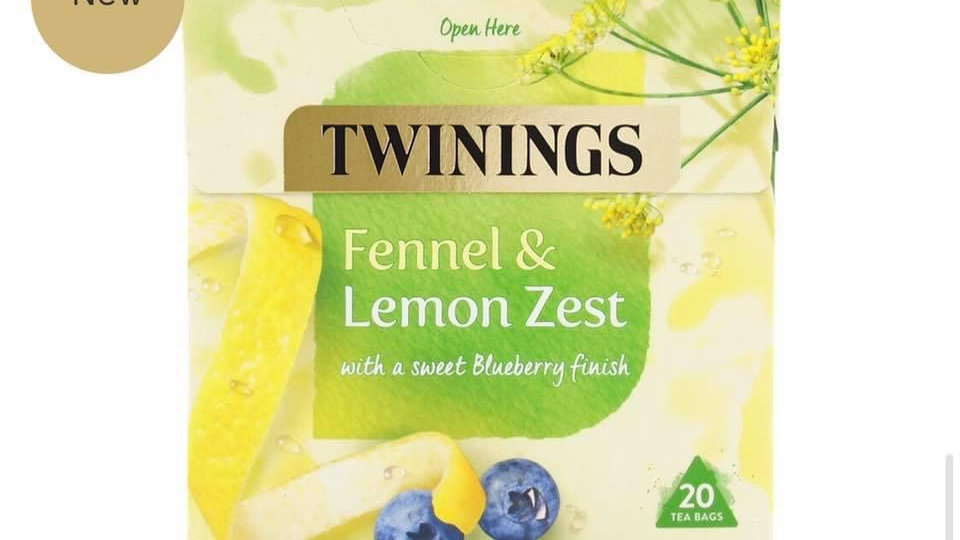 Fennel & Lemon Zest Tea