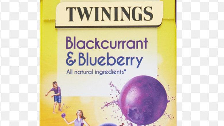 Blackcurrent & Blueberry Tea