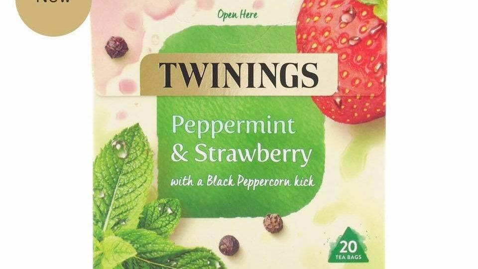 Peppermint & Strawberry Tea