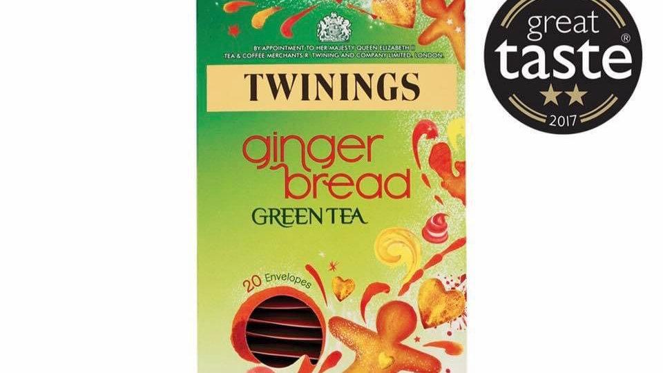 Ginger  Bread Green Tea