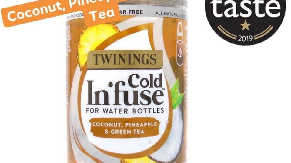 Coconut , Pineapple & Green tea Cold Infuse