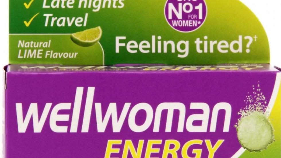 Wellwoman Energy Effervescent tabs