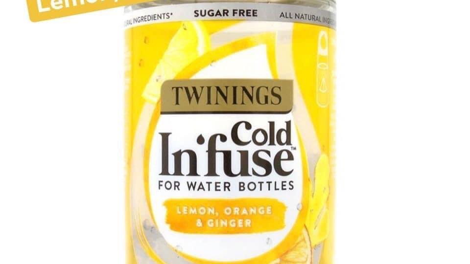 Lemon , Orange & Ginger cold Infuse