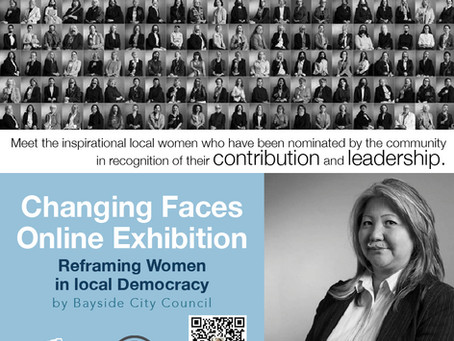 Founder of CCCA Elizabeth Shen - chosen for the Changing Faces Exhibition
