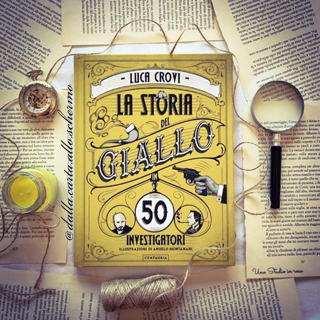 RECENSIONE: La storia del giallo in 50 investigatori (Luca Crovi)