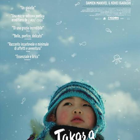RECENSIONE: Takara - La notte che ho nuotato (Damien Manivel)
