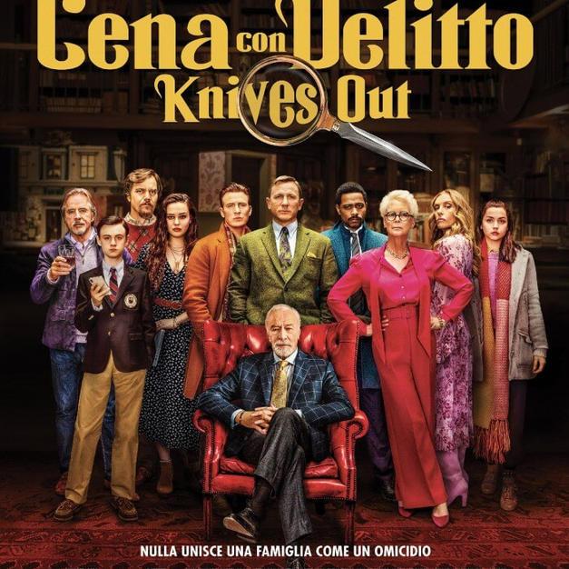 Film: Cena con delitto-Knives out (Rian Johnson)