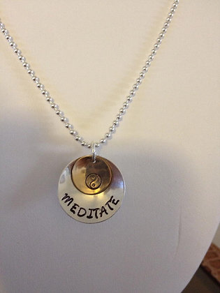 Meditate Ying Yang on SS Chain