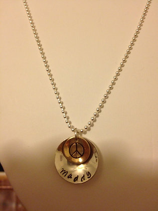 Words of Love SS Disc- Customized SS Chain