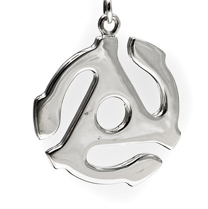 45 RPM Sterling Silver on Cord