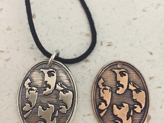 Large Portrat Sterling or Bronze