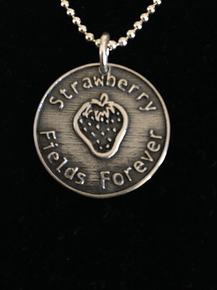 "Beatles Inspired SS ""Strawberry Fields"" Necklace"