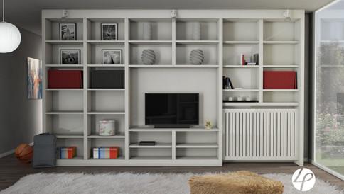 Rendering 3D soggiorno