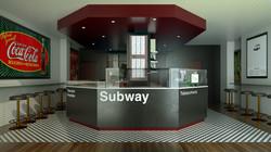 Render 3D Tabacchino Metropolitana