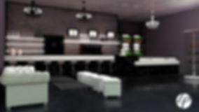 Rendering 3D di un locale