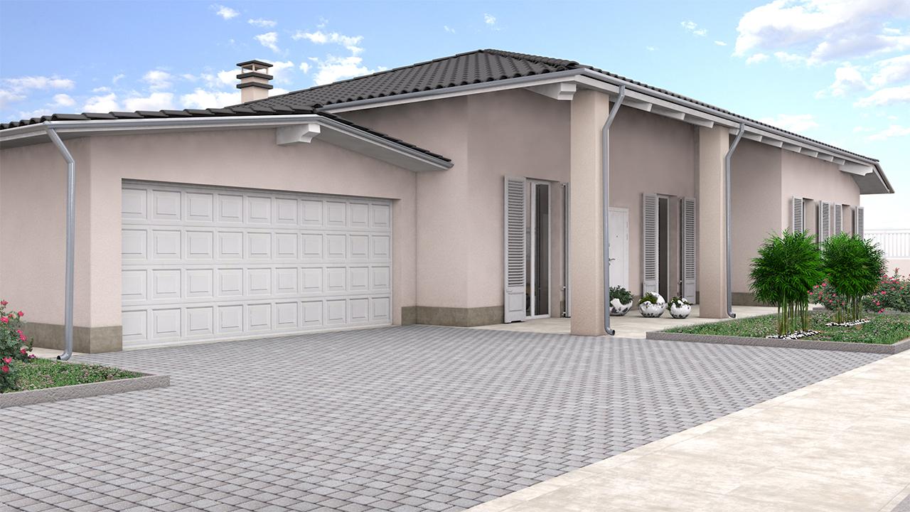 rendering 3d villa 1