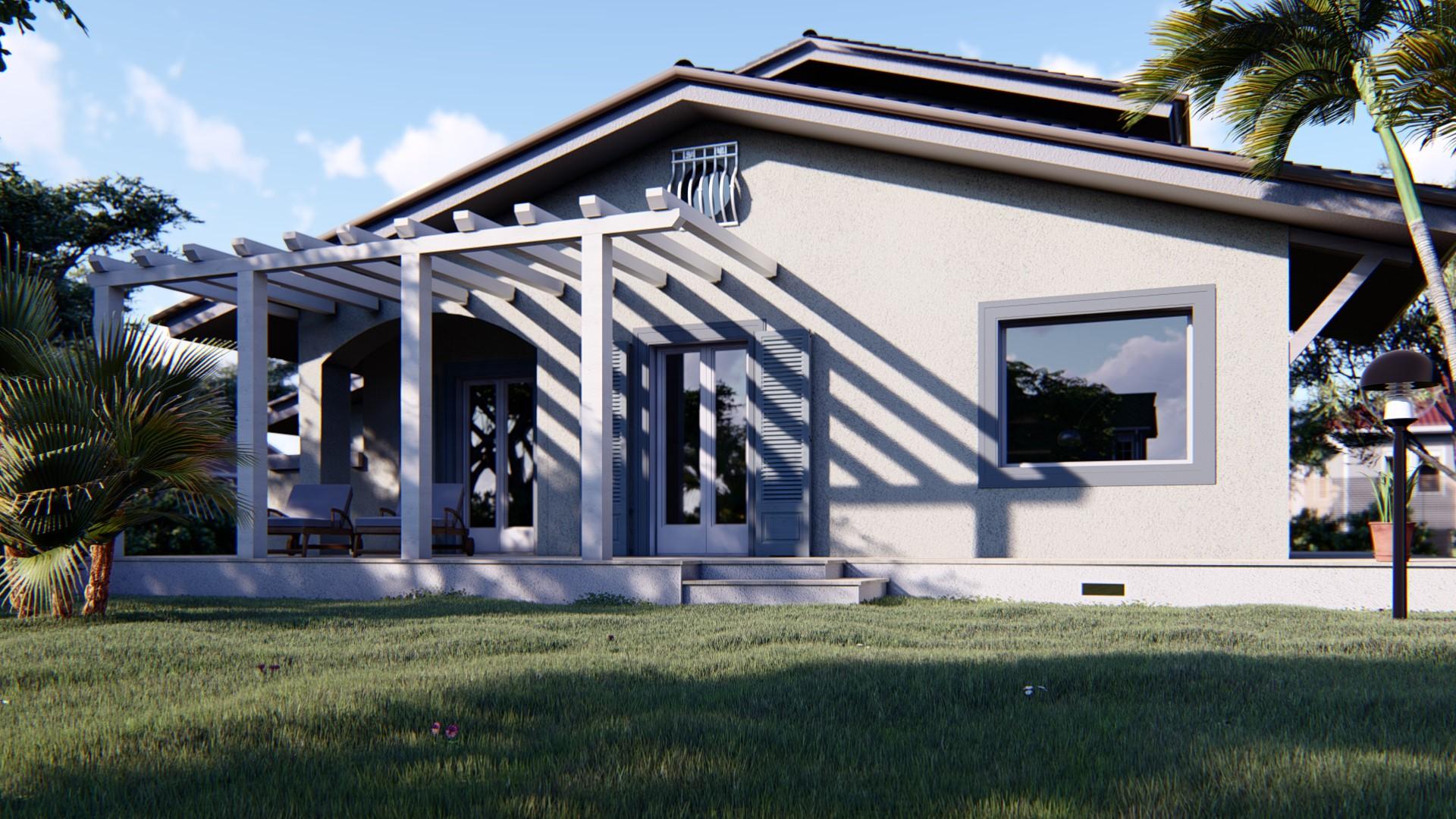Render 3D Villa