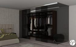 Rendering 3D catalogo cabina armadio