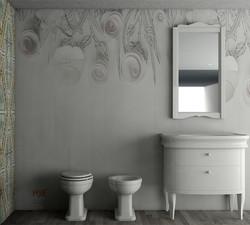 rendering 3d bagno