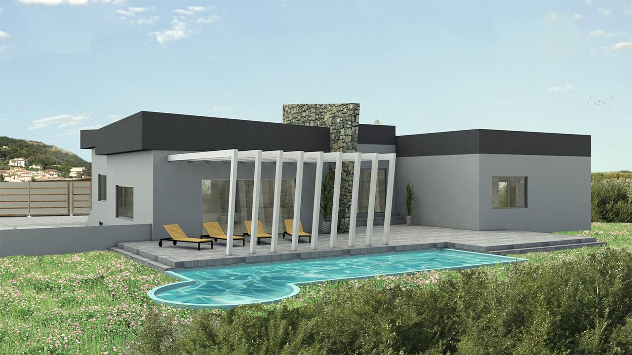 rendering 3d casa
