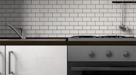 Rendering 3D particolare cucina