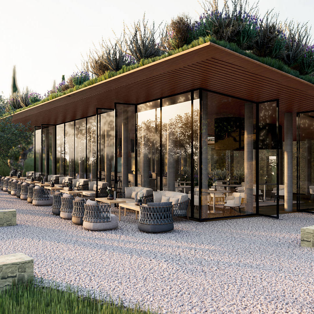 Animazione 3D Resort - Toscana