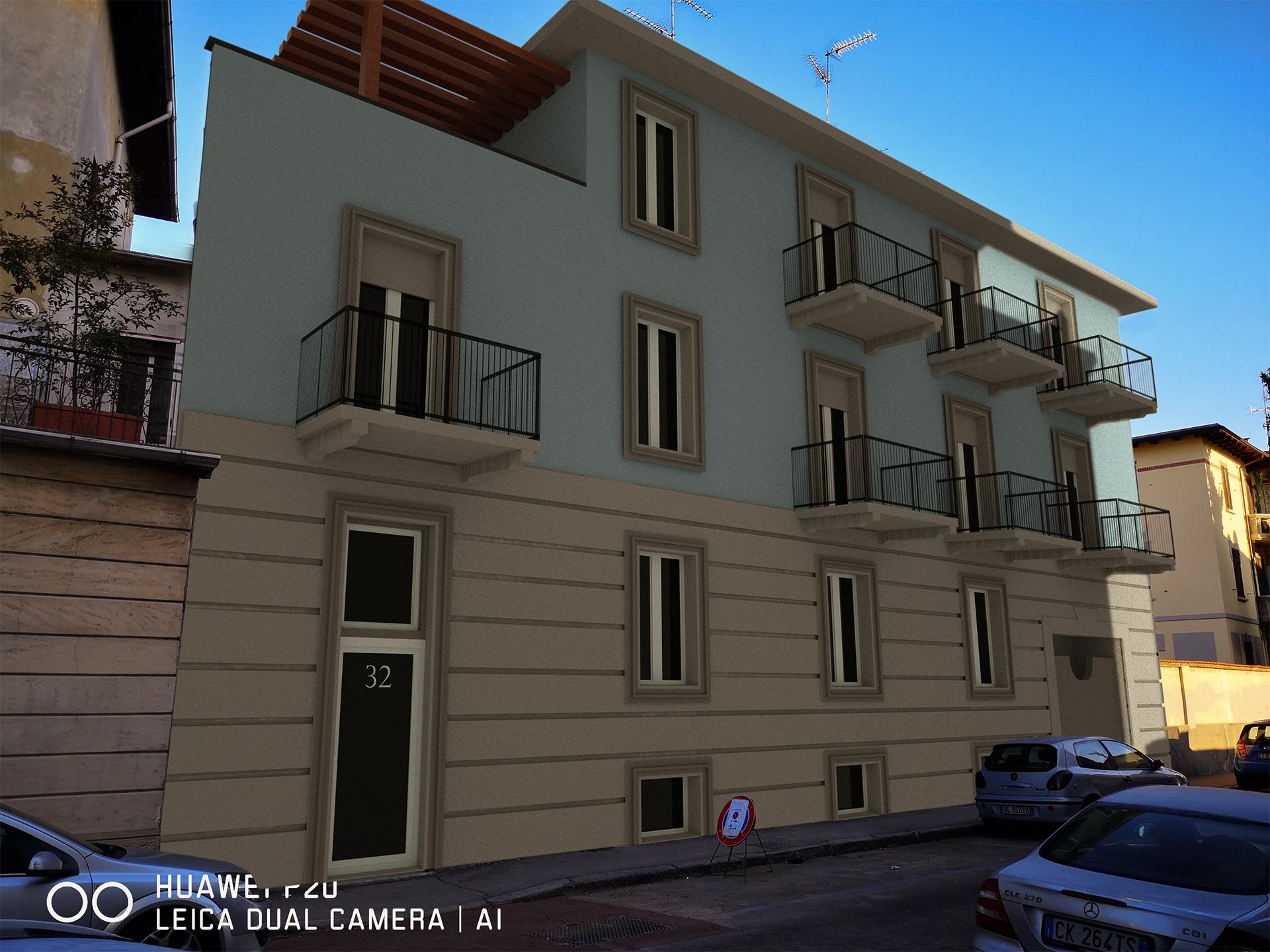 Palazzo Novara con Fotoinserimento