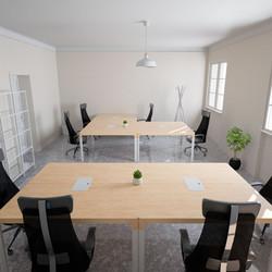Render 3D Ufficio